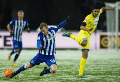 Hertha bezwingt Hoffenheim: Lustenberger feiert knappen Schnee-Sieg | Blick Running, Sports, Hertha Bsc, Snow, Hs Sports, Keep Running, Why I Run, Sport