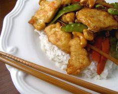 Crispy Cashew Chicken Stir Fry