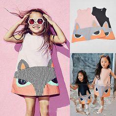 $5.63 (Buy here: https://alitems.com/g/1e8d114494ebda23ff8b16525dc3e8/?i=5&ulp=https%3A%2F%2Fwww.aliexpress.com%2Fitem%2F2016-Baby-Girls-Summer-Dress-Fashion-Kids-Little-Girl-Sleeveless-Fox-Dresses-Casual-Child-Dress%2F32675952747.html ) 2016 Baby Girls Summer Dress Fashion Kids Little Girl Sleeveless Fox Dresses Casual Child Dress for just $5.63
