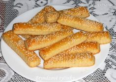 Bryndzové tyčinky (fotorecept) Pretzel Bites, French Toast, Appetizers, Treats, Breakfast, Food, Pizza, Sweet Like Candy, Morning Coffee