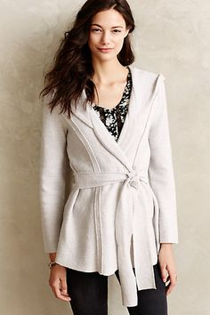 Boiled Wool Wrap Jacket - anthropologie.com