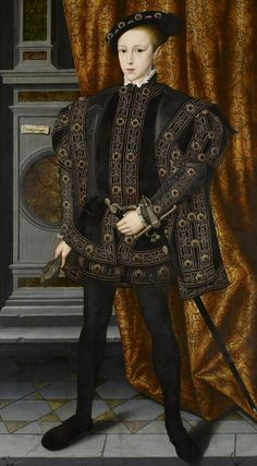 Attributed to William Scrots (active 1537-53) - Edward VI (1537-53)