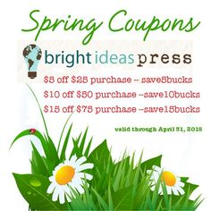 43 best bright ideas press shop images on pinterest homeschool spring coupons 2015 fandeluxe Images