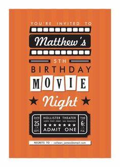 Movie Night by Oma N. Ramkhelawan for Minted.