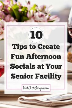 Do you need help creating fun afternoon socials for your assisted living residents? If so, then keep reading to learn 10 tips to help you and your residents have fun in the afternoons! Assisted Living Activities, Senior Assisted Living, Nursing Home Activities, Senior Living, Nursing Home Crafts, Activities For Dementia Patients, Elderly Activities, Work Activities, Social Activities