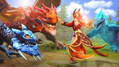 The Dragon Trainer by Darkness-Ringo on DeviantArt Online Battle, Dragon Trainer, Dota 2, Darkness, Video Game, Trainers, Deviantart, Painting, Dragons