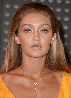 Gigi Hadid at the 2015 MTV VMAs; makeup by Patrick Ta using Maybelline