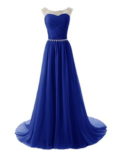 Dressystar® Beaded Straps Bridesmaid Prom Dress with Sparkling Embellished Waist * Check out this great image  : Dresses