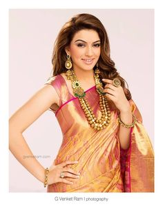 13 South Indian Celebrities Who Give Us Bridal Fashion Goals All The Time Indian Silk Sarees, Indian Beauty Saree, Sari Design, Traditional Indian Jewellery, South Indian Weddings, Stylish Sarees, Madhuri Dixit, Indian Celebrities, Saree Blouse Designs