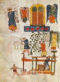 Beato Emilianense . Manuscrito datado en la primera mitad del siglo X (ca. 930-945) y conservado actualmente en la Biblioteca Nacional de España, con la signatura Vitr. 14-1. Procede de la biblioteca del monasterio de San Millán de la Cogolla (La Rioja), Digitalizado en: http://bdh-rd.bne.es/viewer.vm?id=0000047185   Catálogo Biblioteca UPV/EHU Katalogoan: http://encore.ehu.es/iii/encore/record/C__Rb1735833__Sf-107__Orightresult__U__X3?lang=spi&suite=cobalt