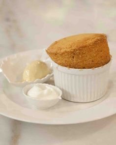 Caramel Souffle -- Martha Bakes