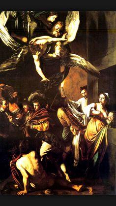 """""""Siete actos de misericordia""""Caravaggio (1607)"""