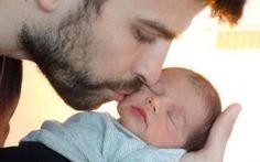 Here is Milan. Gerard Piqué & Shakira's son :-) Cute!