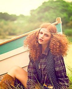 Hippy Girl Curls