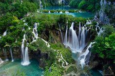 Parque nacional Croacia Plitvice  http://www.catai.es/viajes/croacia-y-sus-parques-naturales.html