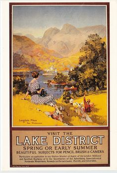 Postcard collection-England lakes district