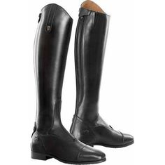 The Tredstep Raphael Boots have a refined style and elegance that when matched with superb performance are ideal for any discipline. These tall boots will flatter your leg shape while allowing comfort through hidden stretch panels.