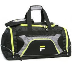 Fila Donlon Small Travel Gym Sport Duffel Bag >>> Check out the image by visiting the link. (This is an Amazon Affiliate link and I receive a commission for the sales)