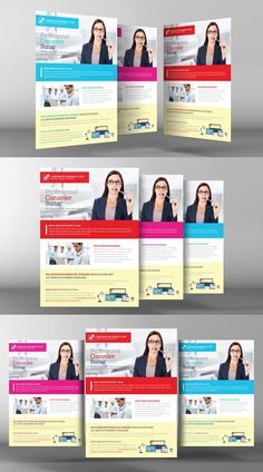 Accounting bookkeeping flyers by kinzi21 on creative market corporate business flyer template fandeluxe Images