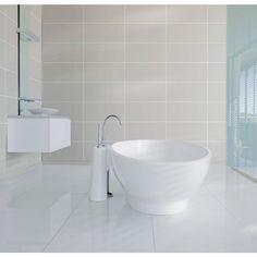 Alloc soft terrazzo glossy finish 60 x 30 - MegaFlis.no Panel, Terrazzo, 30th, Toilet, Sink, Sweet Home, Bathtub, It Is Finished, Bathroom