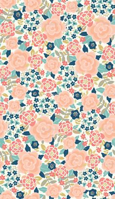 bold floral fabric, wallpaper & gift wrap - Spoonflower