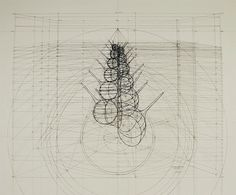 "Juxtapoz Magazine - ""Calculation"" Drawings by Rafael Araujo"