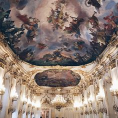 A regular This Is Glamorous series Habitats, Places To Go, Bucket, Europe, Ceiling, Glamour, Exterior, French, Architecture