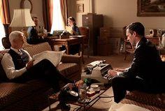 Mad Men, Don Draper (Jon Hamm), Roger Sterling (John Slattery)