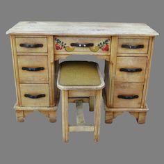 Antique Monterey Desk Monterey Vanity With Bench Stool Monterey Furnitureu2026