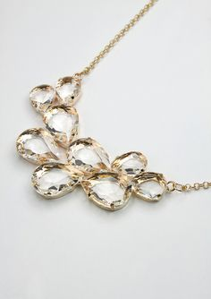 Elegant Crystals Necklace - Necklace - Accessory - Retro, Indie and Unique Fashion