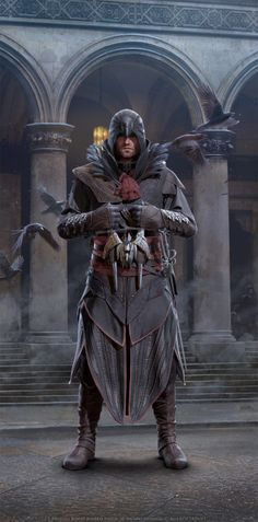 "assassinscreedforever: "" Assassin's Creed Identity concept arts by Andi Drude """