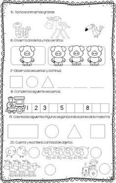 Evaluación diagnóstica primero de primaria Therapy Worksheets, Worksheets For Kids, Montessori, Numbers Kindergarten, Math Work, Preschool Learning Activities, Working With Children, Homeschool, Classroom
