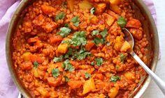 Kari z červené čočky/ red lentils curry