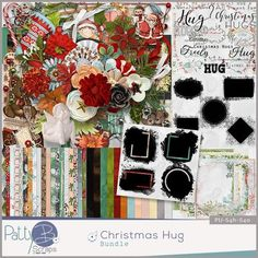 Digital scrapbooking kit by PattyB Scraps CHRISTMAS HUG http://www.godigitalscrapbooking.com/shop/index.php?main_page=product_dnld_info&cPath=29_335&products_id=33971