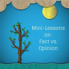 Are you looking for a way to teach facts vs opinions in media and literature? These four activities provide hands-on experience using newspapers and other forms of media.