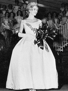 """DIANE SAWYER  Title: Junior Miss 1963 The ABC World News anchor was """"dumbfounded"""" to find herself America's 17-year-old Junior Miss in 1963. """"I have sort of mixed feelings about beauty pageants,"""" Sawyer told PEOPLE in 1986, explaining that she used the ($)11,000 she won to pay for her first year at Wellesley."""