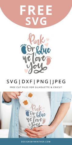 Cricut Craft Room, Baby Svg, Cricut Tutorials, Free Baby Stuff, Svg Files For Cricut, Gender Reveal, Pink Blue, Love You, Project Ideas