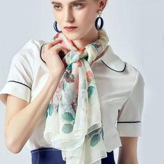 Archívy Šále a šatky - hodváb + polyester - Hodvábne výrobky Modeling, Ruffle Blouse, Tops, Women, Fashion, Moda, Modeling Photography, Fashion Styles, Models