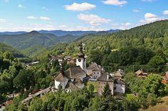 Špania dolina Mountains, Nature, Travel, Naturaleza, Viajes, Destinations, Traveling, Trips, Nature Illustration