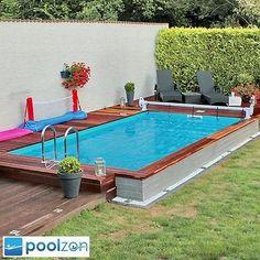 Styroporpool, Thermopool Schwimmbecken 7,00 x 3,50 x 1,50m inkl. Bodenisolierung