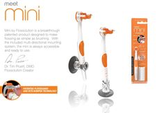 Flossing is now as easy as brushing! Meet Mini by Flossolution...