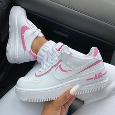 Nike Shoes Air Force, Nike Air Force Ones, Nike Force 1, Jordan Shoes Girls, Girls Shoes, Shoes Women, Sneakers Fashion Outfits, Shoes Sneakers, Nike Fashion