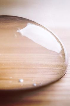 You'll Lose Your Mind Over This Translucent Raindrop Cake