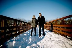 Winter Engagement Session | ©Liller Photo | www.lillerphoto.com