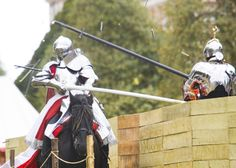 January24, 1555 - Great joust held at Westminster between Queen Mary's and Philip of Spain's knights.