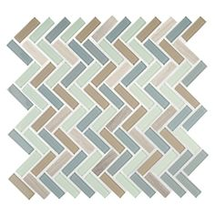 American Olean Royal Palm Mixed Material (Stone and Glass) Mosaic Linear Indoor/Outdoor Wall Tile (Common: 12-in x 12-in; Actual: 11.5-in x 12-in)