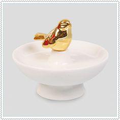 "Image of Coupelle à bijoux ""Gold Bird"""