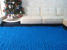 Super Thick Carpet. GIANT Throw. Super bulky Merino Wool. Extreme knitted blanket. Super big stitch carpet by woolWow! Choose from 70 colors by woolwow. Explore more products on http://woolwow.etsy.com
