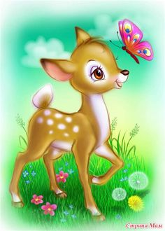 G Cartoon Images, Cute Cartoon, Animation, Cute Mobile Wallpapers, Art Mignon, Deer Illustration, Creation Photo, Pics Art, Pretty Pictures