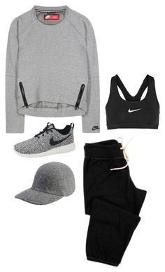 """""""Everyday"""" by bareluxe ❤ liked on Polyvore featuring NIKE, Monrow, STELLA McCARTNEY, women's clothing, women's fashion, women, female, woman, misses and juniors"""